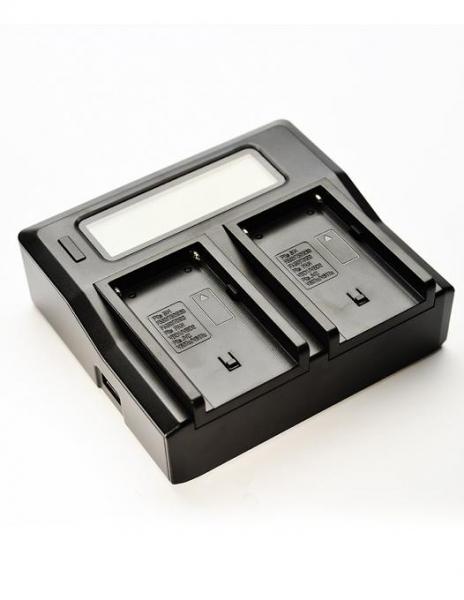 Digital Power Incarcator dual LCD pentru acumulator Sony NP-FM50 0
