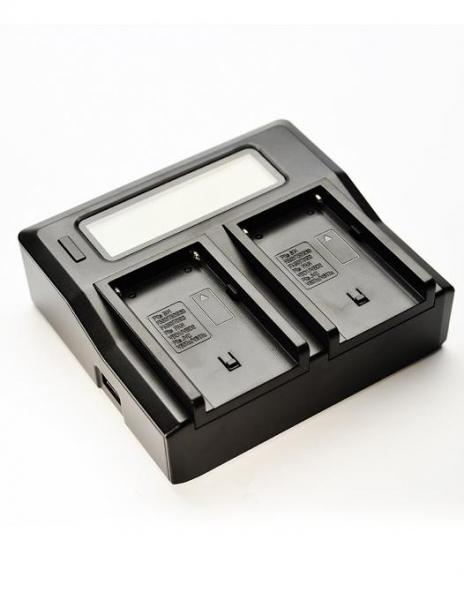 Digital Power Incarcator dual LCD pentru acumulator Panasonic DMW-BLF19 0