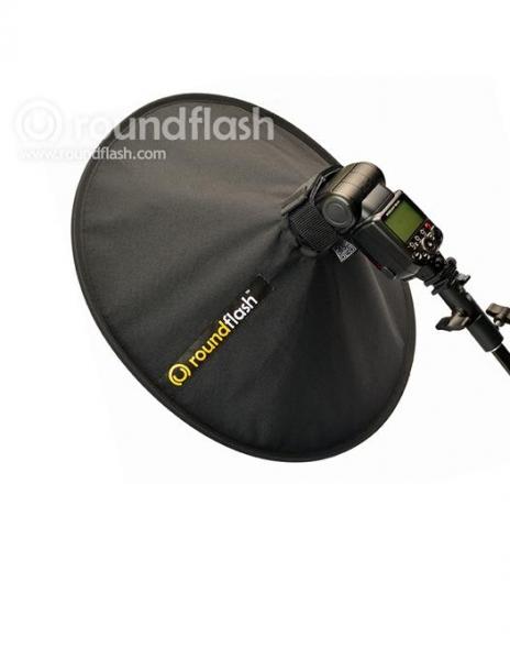 RoundFlash Dish softbox portret