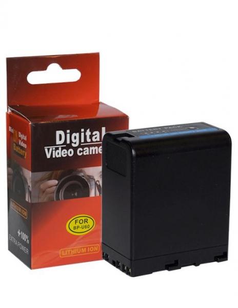 Digital Power Acumulator Li-Ion tip BP-U60 pentru camerele Sony 0