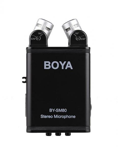 Boya BY-SM80 microfon stereo condenser 1