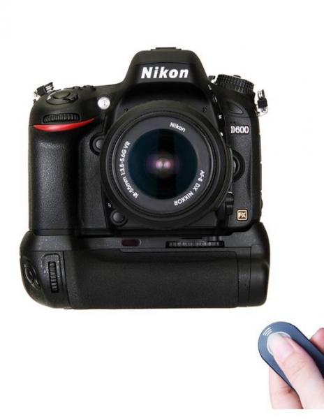 Digital Power grip cu telecomanda pentru Nikon D600/D610 4