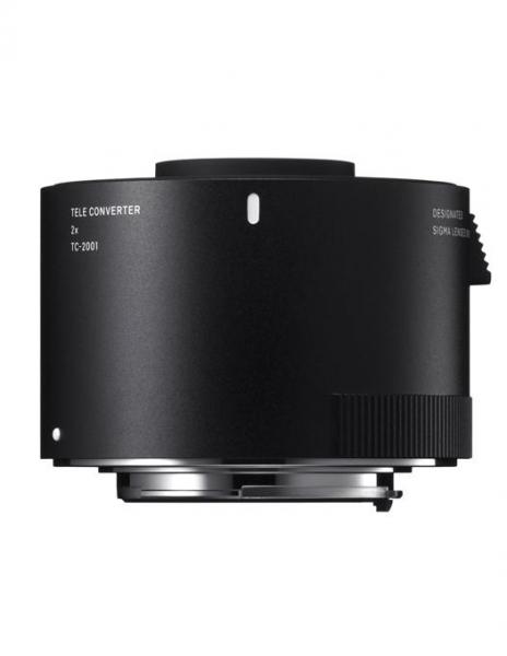 Sigma teleconvertor TC-2001 Canon 2x 0