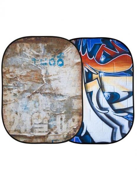 Lastolite Fundal pliabil Distressed/Graffiti 1.5x2.1m 0