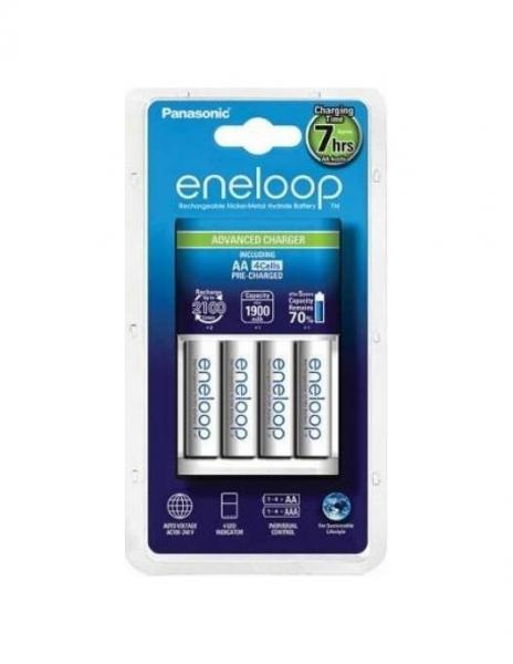 Panasonic Incarcator Eneloop cu acumulatori inclusi