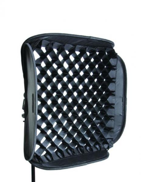 Lastolite Fabric Grid Ezybox Hotshoe 54x54cm [0]