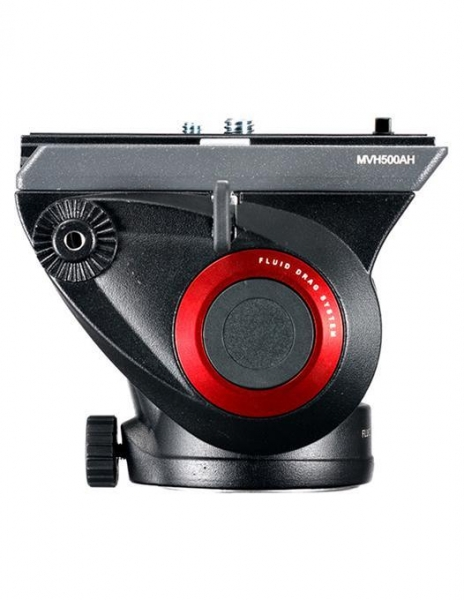 Manfrotto MVH500AH cap trepied video 3