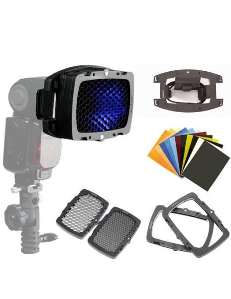 Godox AD200 Witstro Pocket Flash Blitz Portabil 200W + Lastolite Set Magnetic 1
