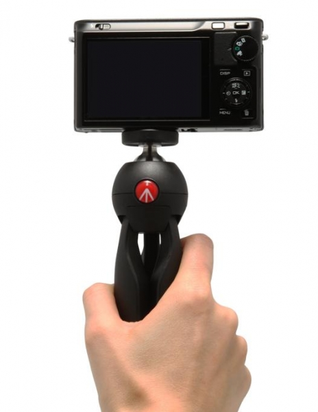 Manfrotto Pixi mini trepied foto Negru 3