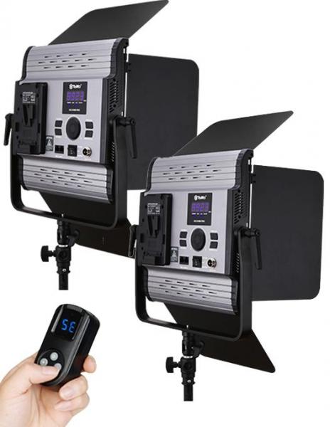 Tolifo GK-S100B PRO kit de 2 x panouri LED bicolor 900