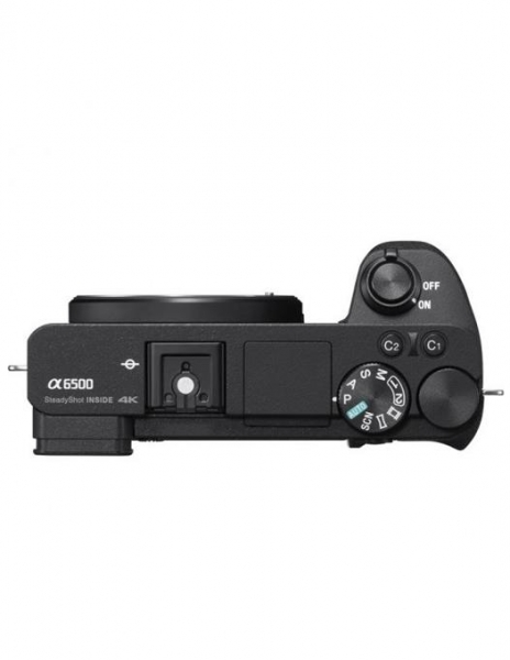 Sony A6500 Body Aparat Foto Mirrorless 24MP APSC Full HD Negru