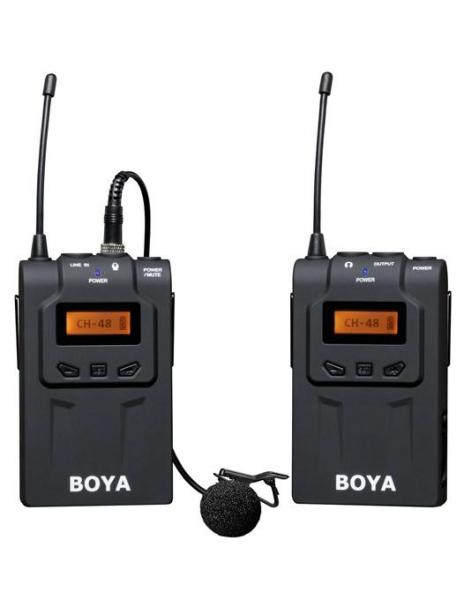 Boya BY-WM6 Kit lavaliera wireless 1