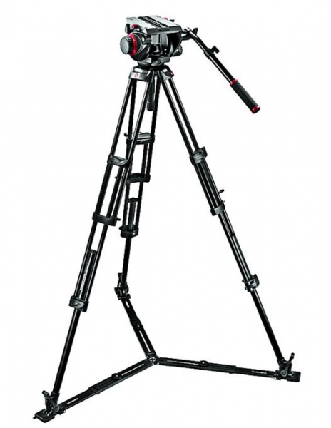 Manfrotto kit trepied video 509HD,545GBK 2
