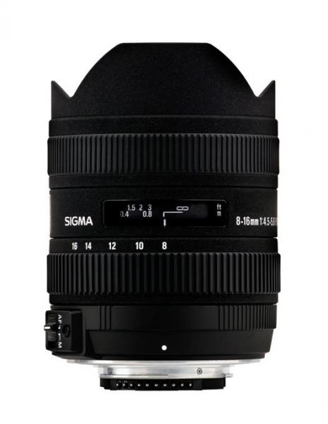 Sigma 8-16mm Obiectiv foto DSLR f4.5-5.6 DC HSM CANON 0