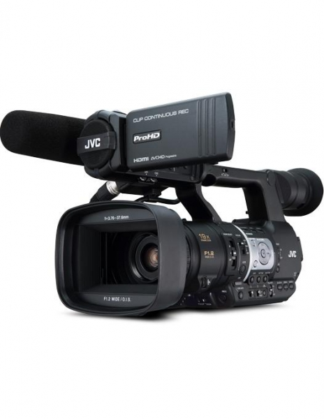JVC JY-HM360E ProHD Camera video handheld 2