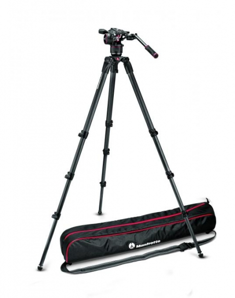 Manfrotto Kit video complet Nitrotech N8 Carbon 0