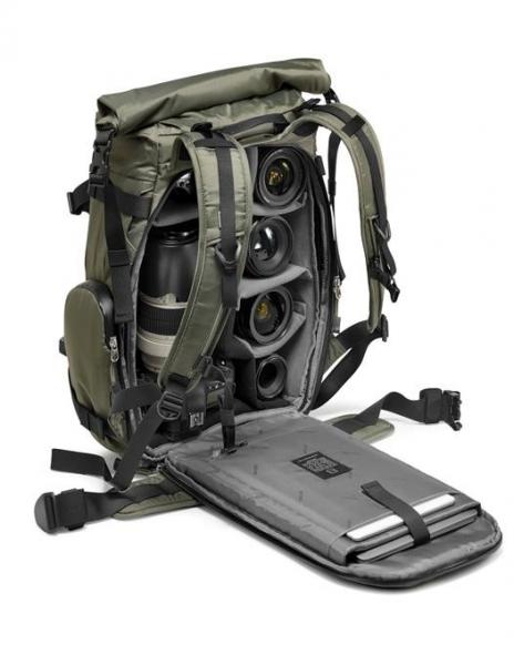 Gitzo Adventury 30L Rucsac pentru DSLR verde kaki 3