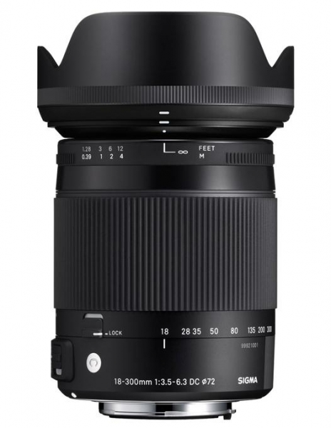 Sigma 18-300mm f/3.5-6.3 DC MACRO OS HSM C Canon 0