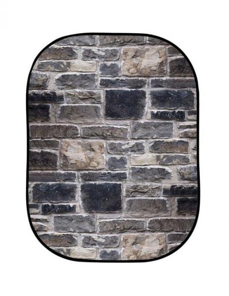 Lastolite fundal pliabil Red Brick/Grey Stone 1.5 x 2.1m 2