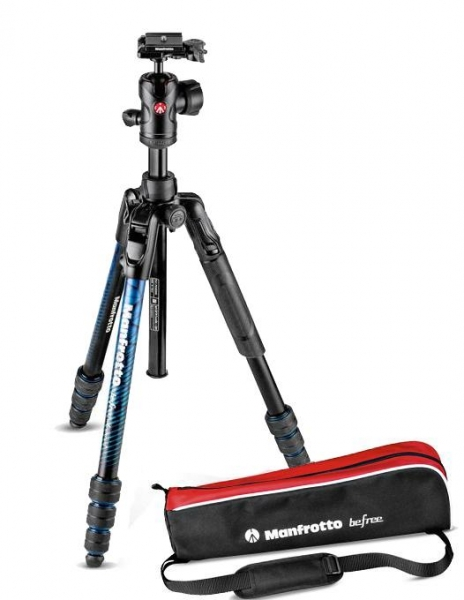 Manfrotto Befree Advanced Twist Blue 0