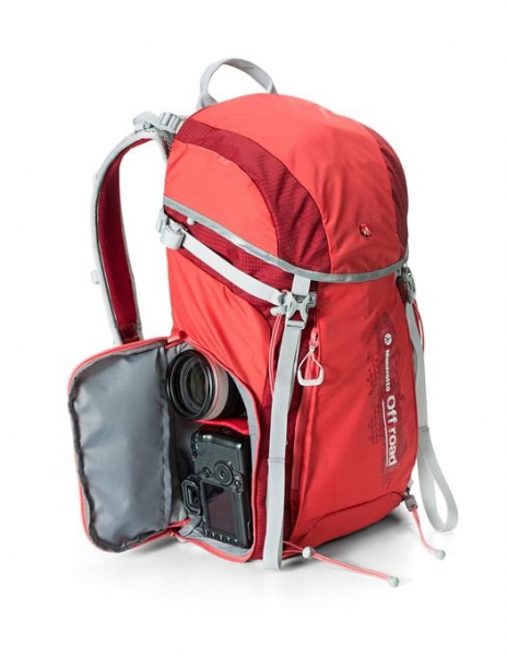 Manfrotto Off Road Hiker 30L rucsac rosu 1