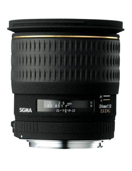 Sigma 24mm Obiectiv foto DSLR f1.8 EX DG ASP Macro CANON 0