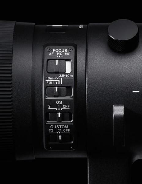 Sigma 500mm Obiectiv Foto DSLR f/4 DG OS HSM Sport NIKON 3