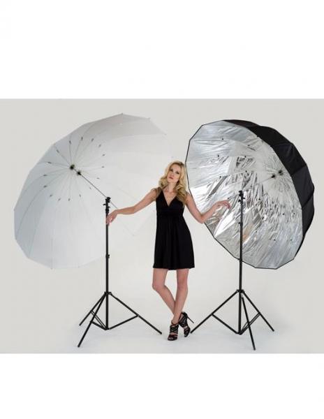 Lastolite Mega Umbrela Kit Silver/Translucent Parabolica 157cm [3]
