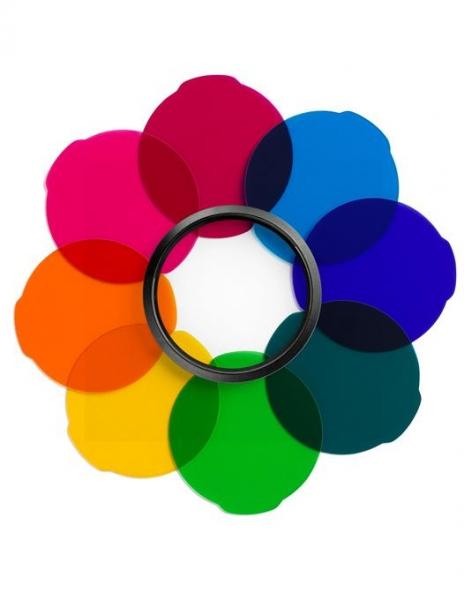 Manfrotto set filtre multicolor pentru Lumimuse 0