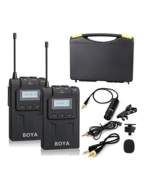 Boya BY-WM6 Kit lavaliera wireless 0