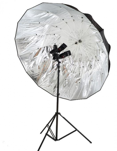 Lastolite Mega Umbrela Silver Parabolica 157cm 0