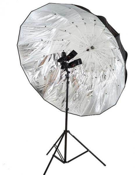 Lastolite Mega Umbrela Kit Silver/Translucent Parabolica 157cm [1]