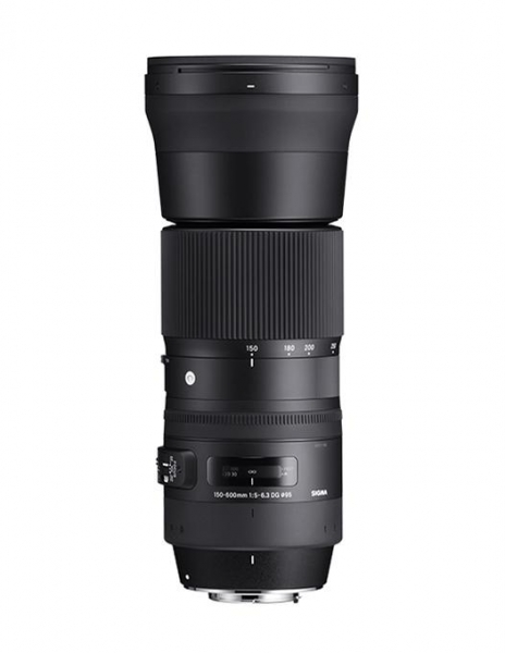 Sigma 150-600mm f 5-6,3 DG OS HSM Contemp.Nikon 1