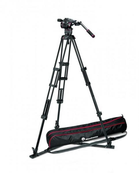 Manfrotto Nitrotech N8 kit trepied video 0