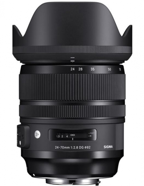 Sigma 24-70mm Obiectiv Foto DSLR f/2.8 OS DG HSM ART CANON 2