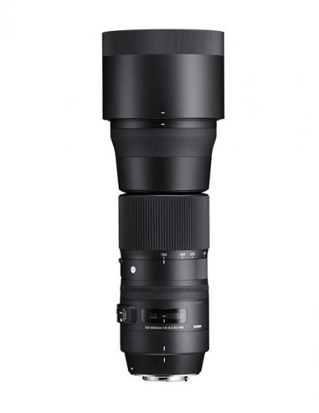 Sigma 150-600mm f 5-6,3 DG OS HSM Contemporary Canon obiectiv foto dslr [0]