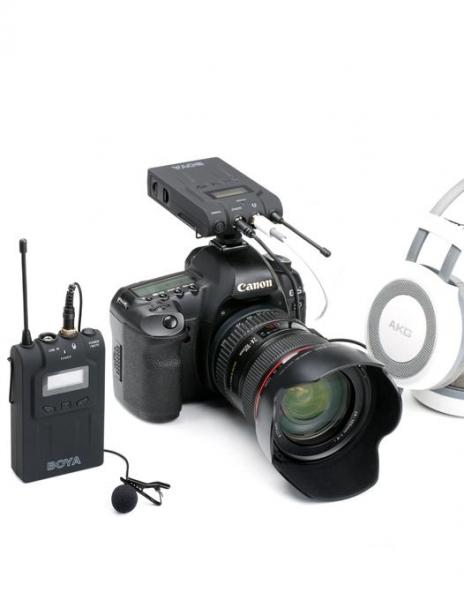 Boya BY-WM6 Kit lavaliera wireless 3