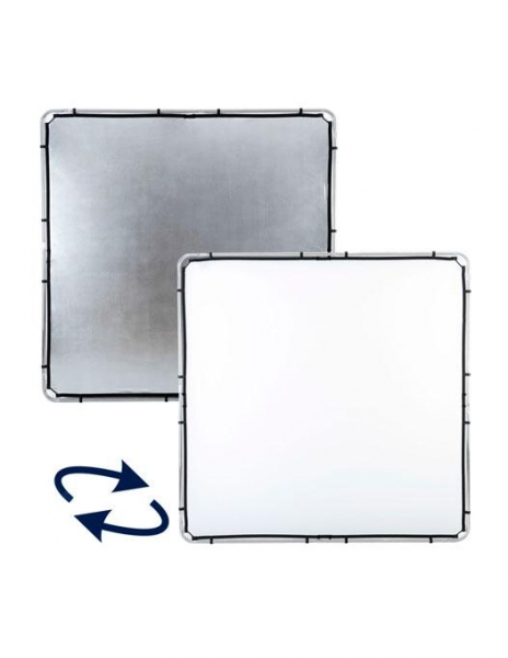 Lastolite Skylite Rapid Panza Silver/White 2x2m [0]
