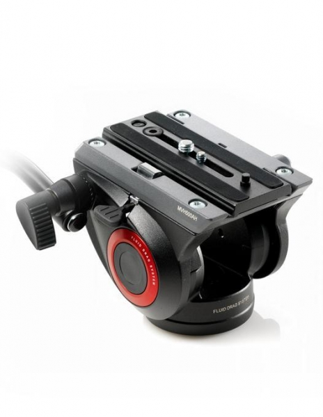 Manfrotto MVH500AH cap trepied video 1