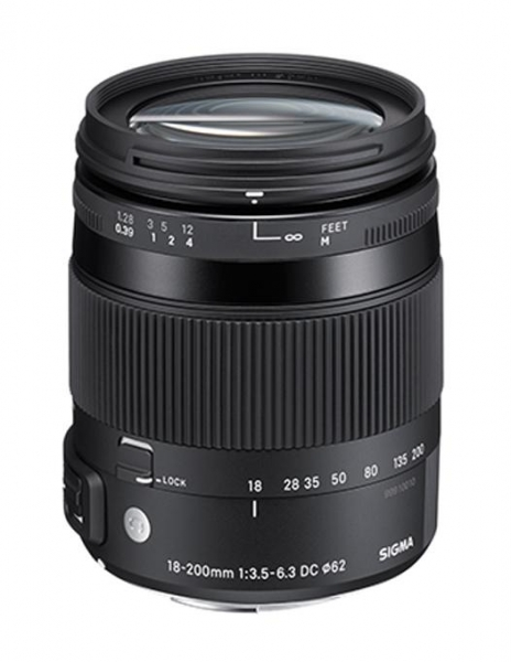 Sigma 18-200mm Obiectiv Foto DSLR f3.5-6.3 DC Macro OS HSM C CANON 0