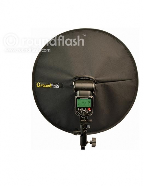RoundFlash Dish softbox portret 2