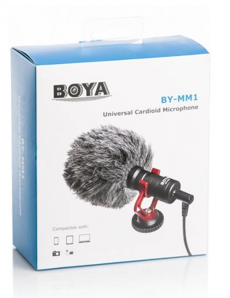 Boya BY-MM1 Microfon unidirectional 4