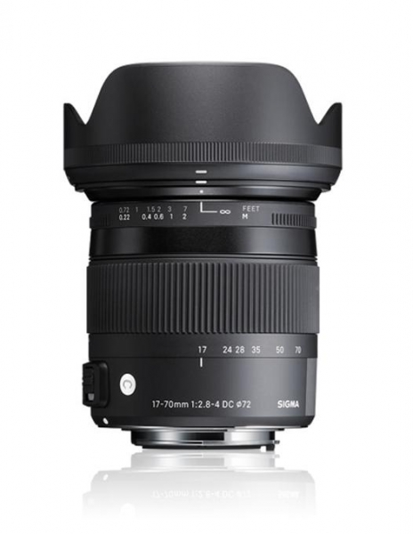 Sigma 17-70mm Obiectiv foto DSLR f2.8-4 DC Macro OS HSM C CANON 0