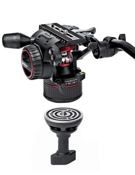Manfrotto MVKN8TWINM Nitrotech 8 kit trepied video