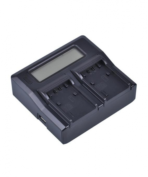 Digital Power Incarcator dual LCD compatibil Acumulator Sony NP-FV100 2