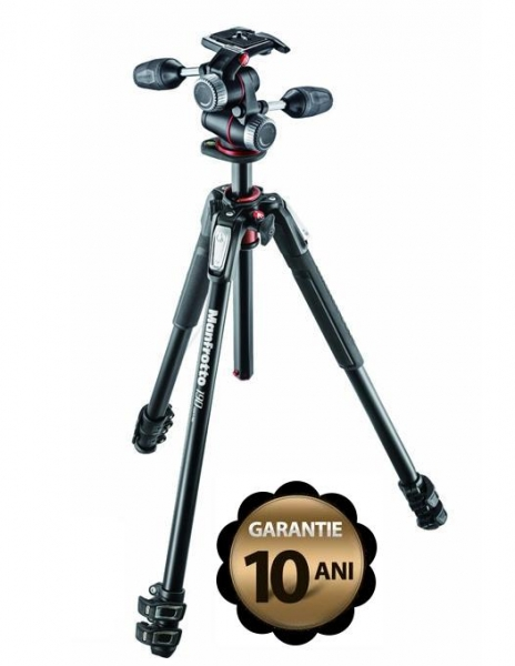 Manfrotto 190XPRO3-3W trepied foto cu cap 3Way MHXPRO3W 2