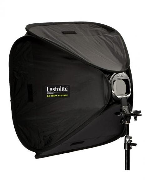 Lastolite Ezybox Hotshoe Softbox cu adaptor pentru blit 63 x 63cm [0]