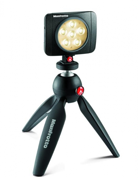 Manfrotto PowerLED Lumimuse 6 lampa video 1