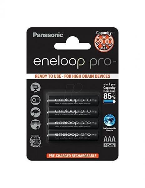 Panasonic Acumulatori Eneloop PRO4xAAA 900MA [0]