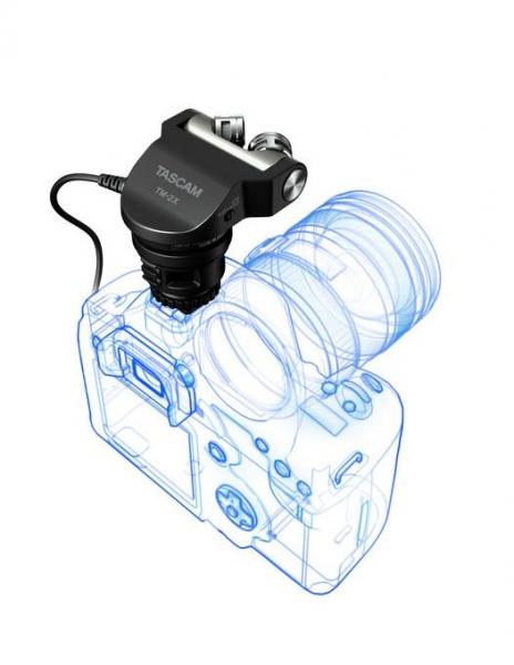 Tascam Microfon stereo DSLR TM-2X 3